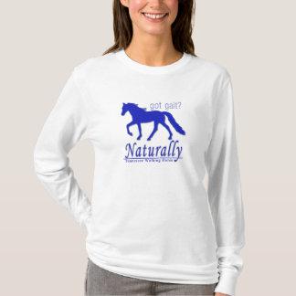 得られた足取りか。 当然テネシー州の歩くの馬 Tシャツ