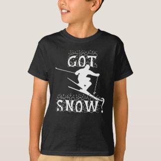 得られた雪か。 Tシャツ