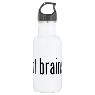 得られた頭脳か。 ウォーターボトル
