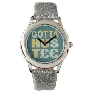 得られた/HU$T£€強いるためカスタムの腕時計 腕時計
