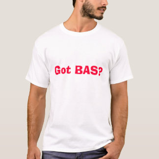 得られたBASか。 Tシャツ