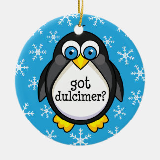 得られたDulcimerの(おもしろいな)オーナメント セラミックオーナメント