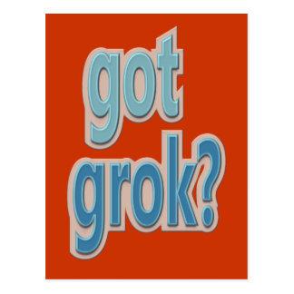 得られたGrokか。 文字デザイン ポストカード