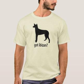 得られたIbizan猟犬 Tシャツ