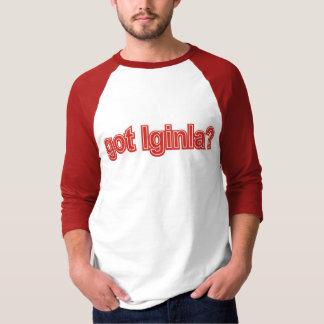得られたIginla Tシャツ