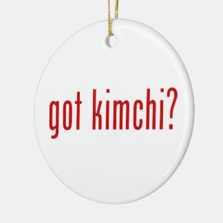 得られたkimchiか。 セラミックオーナメント
