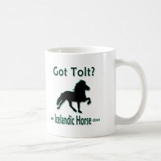 得られたToltか。 私のアイスランドの馬は コーヒーマグカップ