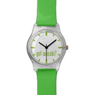 得られたwasabiか。 腕時計