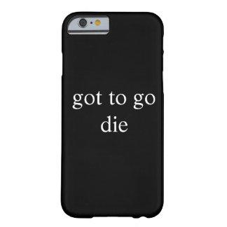 得られる行くために BARELY THERE iPhone 6 ケース