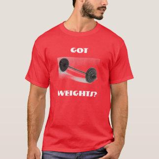 得られる、重量か。 Tシャツ