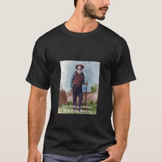 得意気に目立ちたがり屋レバー食べ物のジョンソンのTシャツ Tシャツ