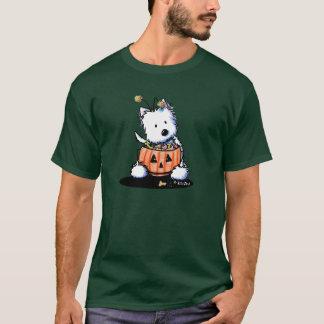 御馳走のためのWestieのトリック Tシャツ