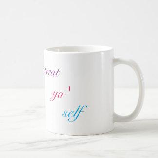 御馳走Yoの自己のマグ コーヒーマグカップ
