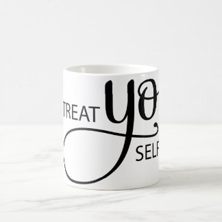 御馳走Yoの自己 コーヒーマグカップ