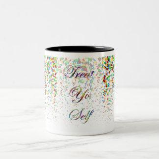 御馳走Yoの自己 ツートーンマグカップ