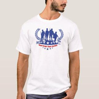 復員軍人の日のTシャツを整備して下さい Tシャツ