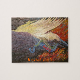 復活のワシのパズル ジグソーパズル