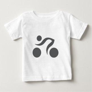 循環のカッコいいおよびユニークなデザイン ベビーTシャツ