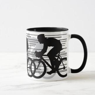 循環のデザインのマグ マグカップ