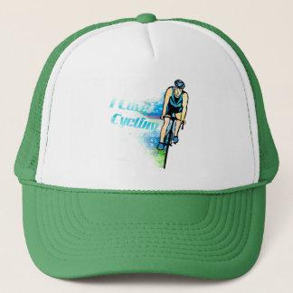 循環のデザインの帽子 キャップ