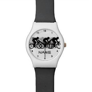 循環のデザインの腕時計 腕時計
