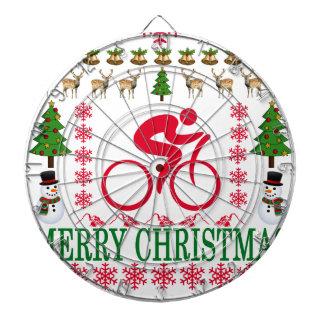 循環のメリークリスマス。 ダーツボード