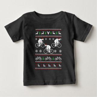 循環の醜いクリスマスのセーター ベビーTシャツ