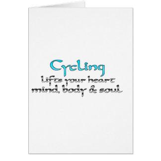 循環はあなたのハートの心の体及び精神を持ち上げます カード