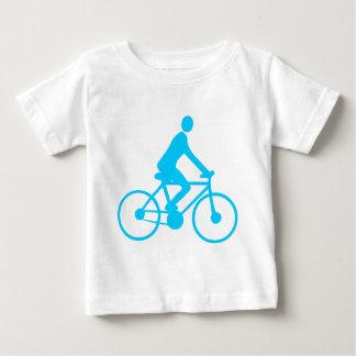 循環-スカイブルー ベビーTシャツ
