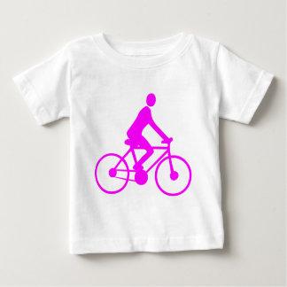 循環-マゼンタ ベビーTシャツ