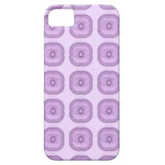 微妙でモダンなライラックの紫色の花 iPhone SE/5/5s ケース