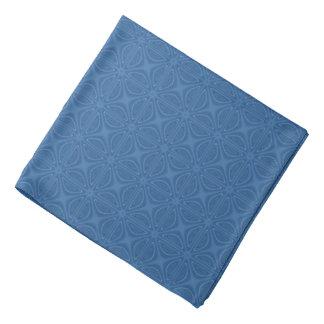 微妙で青い十字形の幾何学的なパターン バンダナ