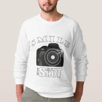 微笑させ、打撃の写真撮影のユーモアSarcasimを得て下さい スウェットシャツ