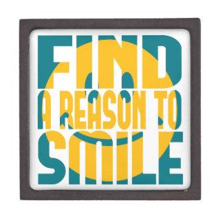 微笑する理由を見つけて下さい ギフトボックス