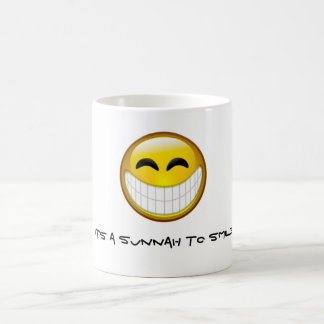 微笑するSunnah コーヒーマグカップ