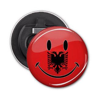 微笑のアルバニアの旗 栓抜き