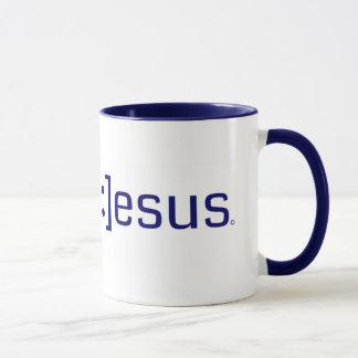 微笑のイエス・キリストの技術のマグ マグカップ