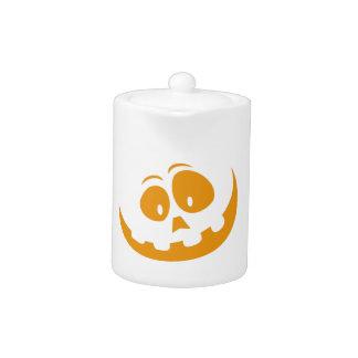 微笑のオレンジジャック「Oのランタンのハロウィンのカボチャ