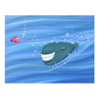 微笑のクジラ ポストカード
