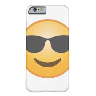 微笑のサングラスEmoji Barely There iPhone 6 ケース