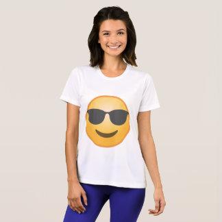 微笑のサングラスEmoji Tシャツ