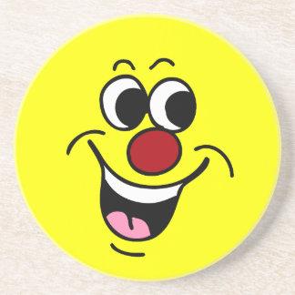 微笑のスマイリーフェイスGrumpey コースター