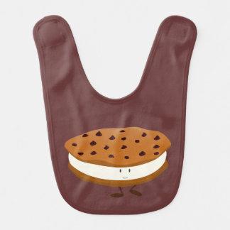 微笑のチョコチップクッキーサンドイッチ ベビービブ