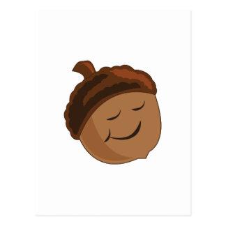 微笑のドングリ ポストカード