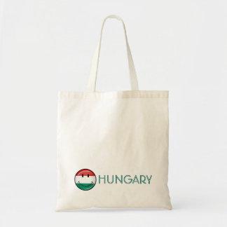 微笑のハンガリーの旗 トートバッグ