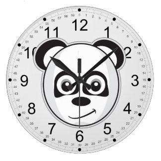 微笑のパンダ ラージ壁時計