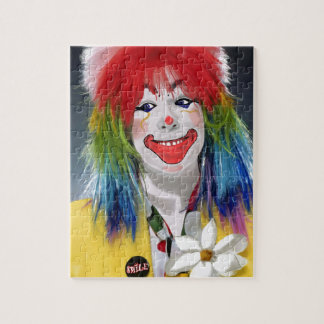 微笑のピエロ ジグソーパズル