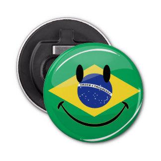 微笑のブラジルの旗 栓抜き