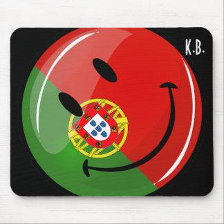 微笑のポルトガルの旗 マウスパッド