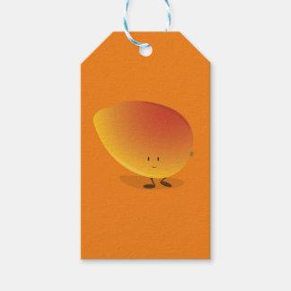 微笑のマンゴのキャラクター ギフトタグ